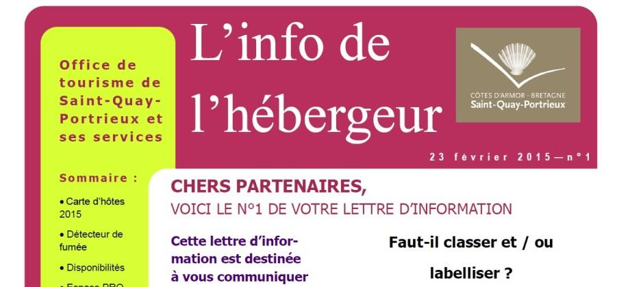 Newsletter office tourisme saint quay portrieux - Office du tourisme saint quay portrieux ...