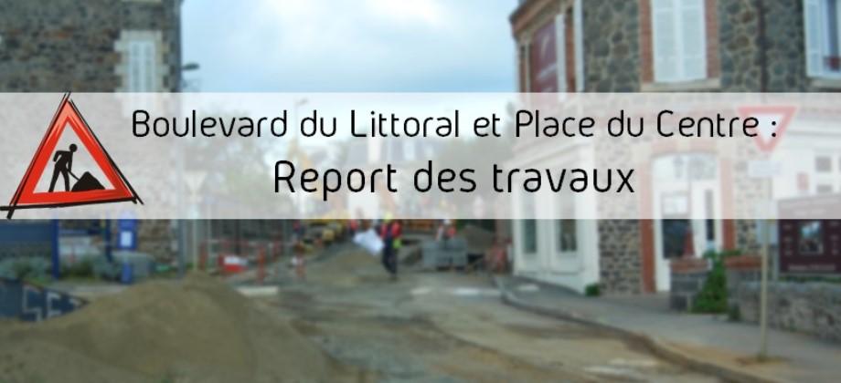 report travaux