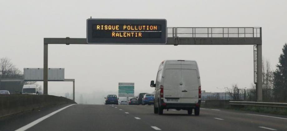 alerte pollution