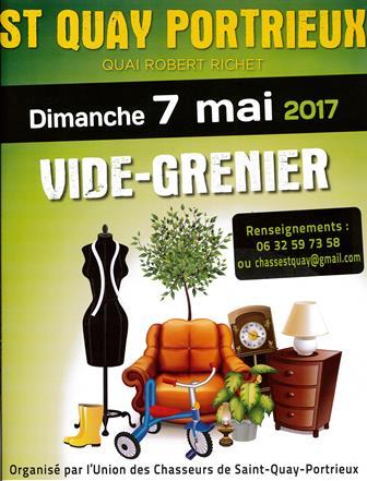 vide greniers chasseurs saint-quayportrieux mai2017